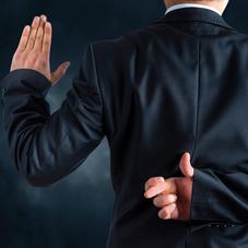 9° COMANDAMENTO: Non dire falsa testimonianza